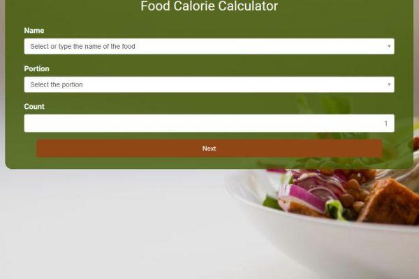 Food Calorie Calculator